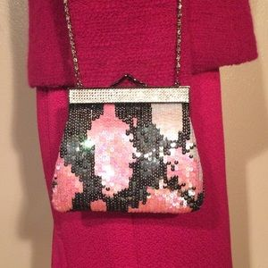 80's Sequin Evening Bag